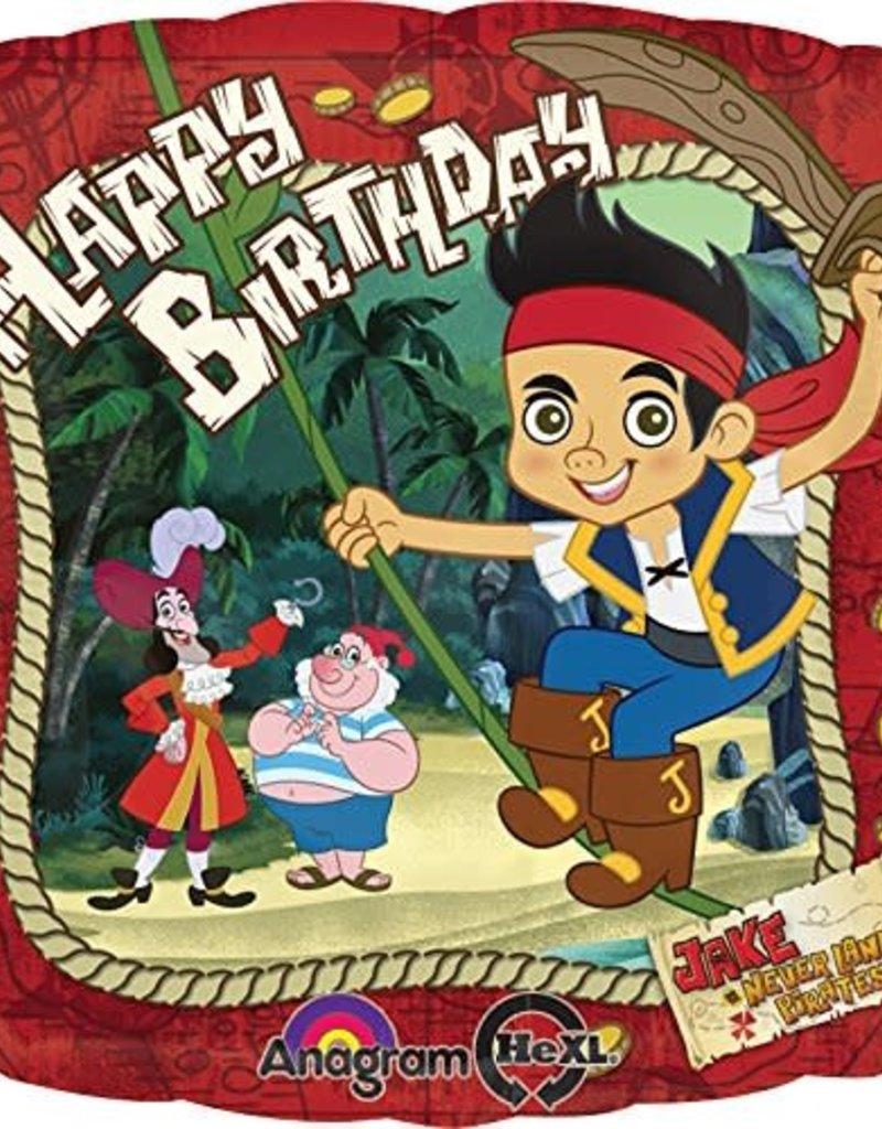 ***Jake and the Never Land Pirates Birthday Mylar Balloon