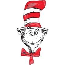 "***Dr. Seuss Cat In the Hat 42"" Mylar Balloon"