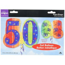 ***Jumbo 50 Celebrate Mylar Balloon