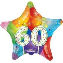 ***Pastel Star 60 Mylar Balloon