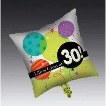***Life is Great at 30 Mylar Balloon