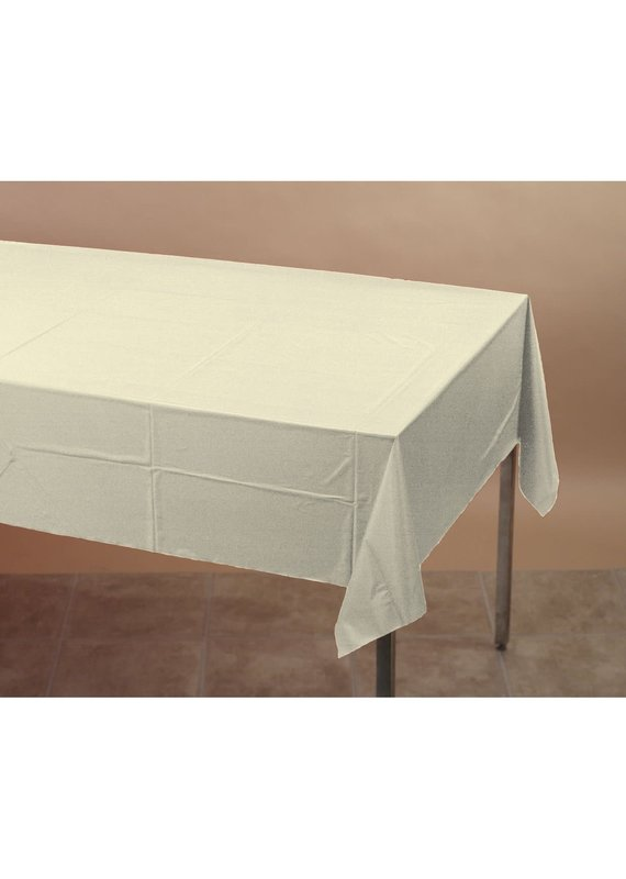 ****Ivory 54x108 Rectangle Tablecover