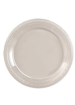 "****Clear 7"" Plastic Dessert Plates 20ct"