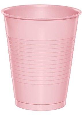 ****Classic Pink 16oz Plastic Cups 20ct