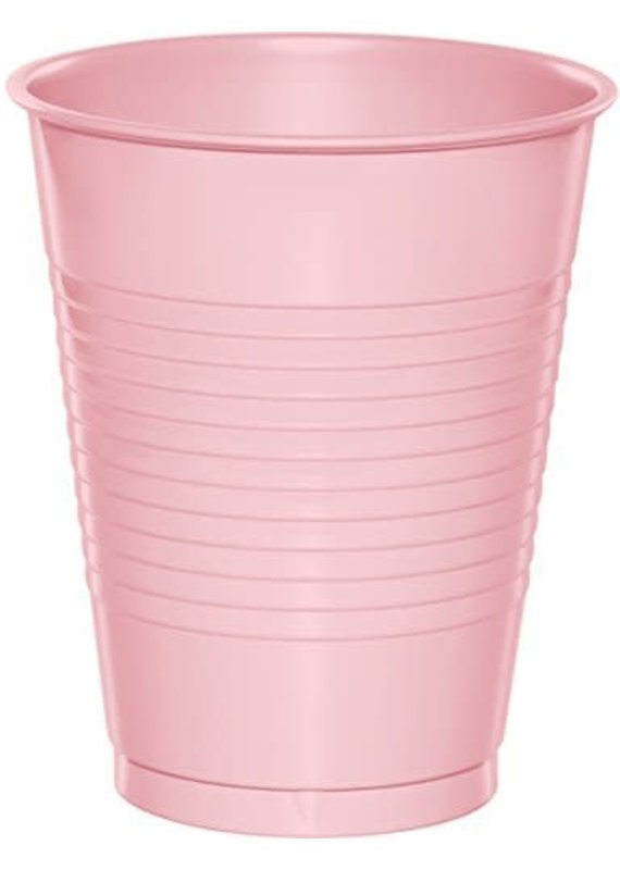 ****Classic Pink 16oz Plastic Cups 20ct