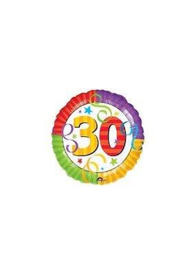 ***Color Block 30 Mylar Balloon