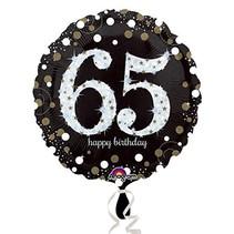 ***Sparkling Birthday 65 Mylar Balloon