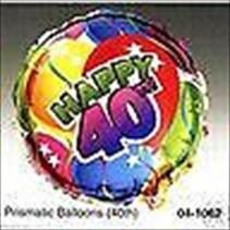 "***Forty 40 Birthday 18"" Mylar Balloon"