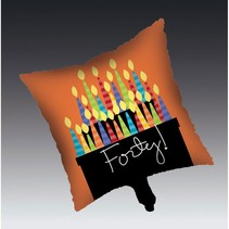 ***Great Birthday 40 Mylar Balloon