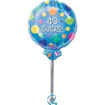 ***40 Sucks Lolly Pop balloon