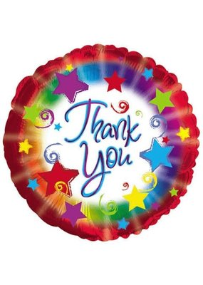 """***Thank You Red 18"""" Mylar Balloon"""