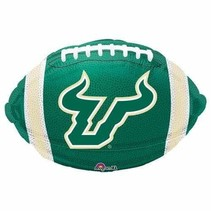 ***USF Football Shaped Mylar Balloon