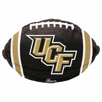***UCF Knight Football Shape Mylar Balloon