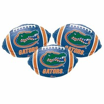 ***UF Gator Football Mylar Balloon (1ct)
