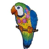 "***Tropical Parrot 29"" Mylar Balloon"