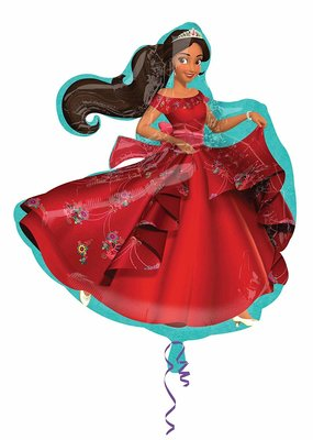 "***Elena of Avalor 31"" Shape Mylar Balloon"