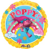 "***Trolls Poppy 17"" Mylar Balloon"