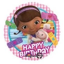 ***Doc McStuffins Birthday Mylar Balloon