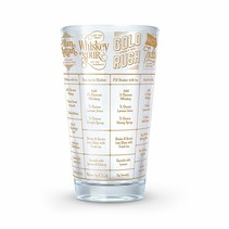 ***Good Measure Whiskey Recipe Glass