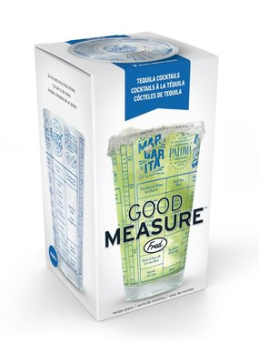 Fred & Friends ***Good Measure Tequila Recipe Glass
