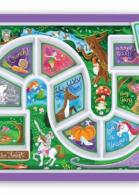 Fred & Friends ***Kid's Dinner Winner Princess Forest Tray