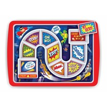 ***Kid's Dinner WinnerSuperhero Tray
