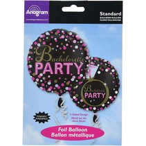 "***Bachelorette Party Dot 18"" Mylar Balloon"