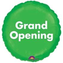 ***Grand Opening Lime Green Mylar Balloon