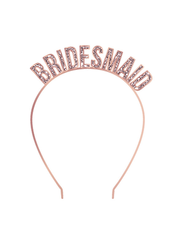 ***Bridesmaid Rose Gold Headband