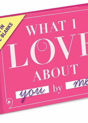 Knock Knock ***What I Love About You & Me Fill In Book