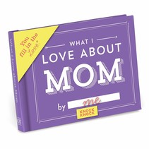 ***What I Love About Mom Fill In Book