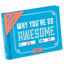 ***Why You're So Awesome Fill In Book