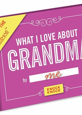 Knock Knock ***What I Love About Grandma Fill in Book