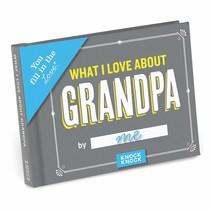 ***What I Love About Grandpa Fill in Book