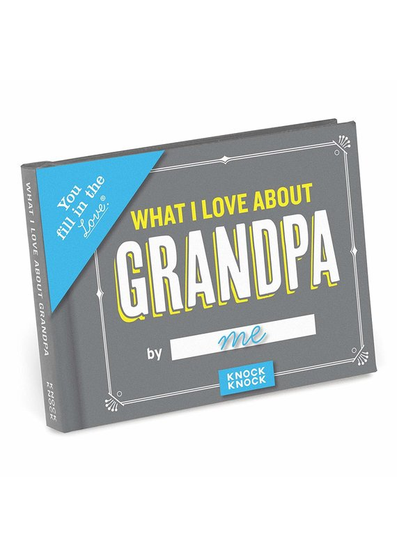 Knock Knock ***What I Love About Grandpa Fill in Book
