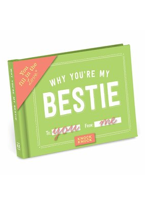 Knock Knock ***Why You're My Bestie Fill in Book