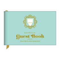 ***Bathroom Guest Book