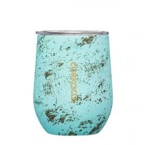 ***Bali Blue Stemless Wine Glass