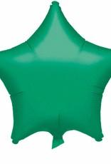 ***Green Star Mylar Balloon