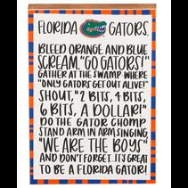***Florida Block Canvas