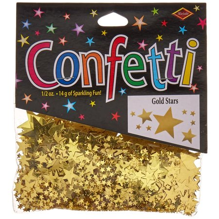 ***Gold Stars Confetti .5oz Bag
