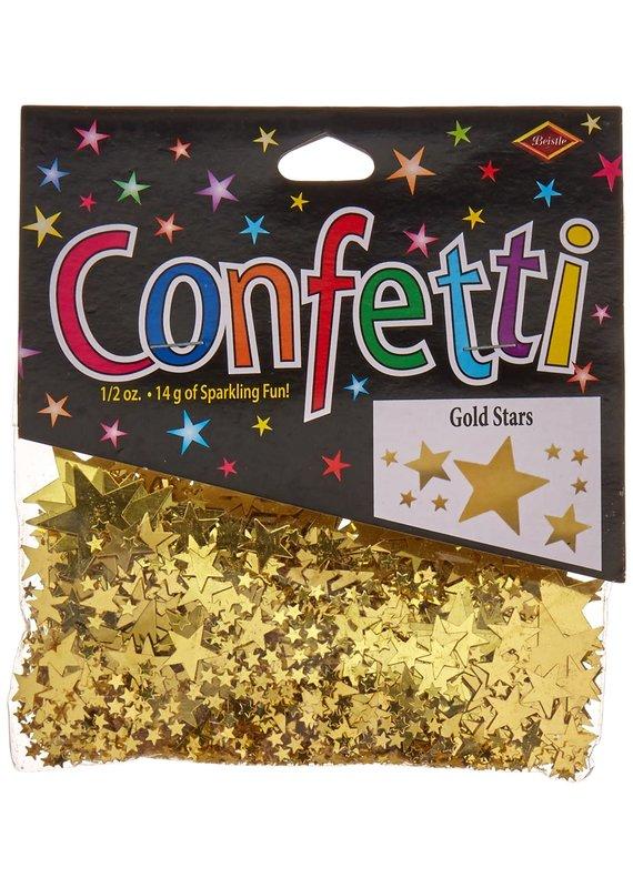 ****Gold Stars Confetti .5oz Bag