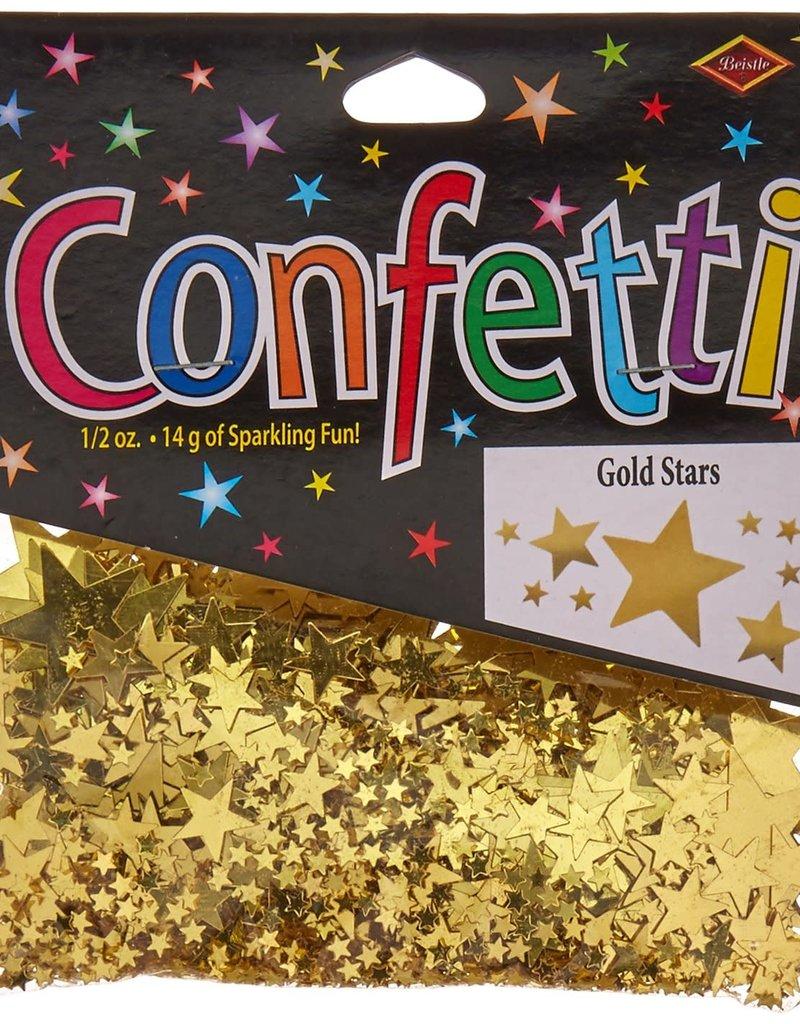 ***Gold Stars Confetti .5oz Bag