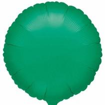 ***Green Round Mylar Balloon