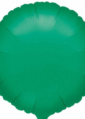 ***Green Round Mylar Balloon