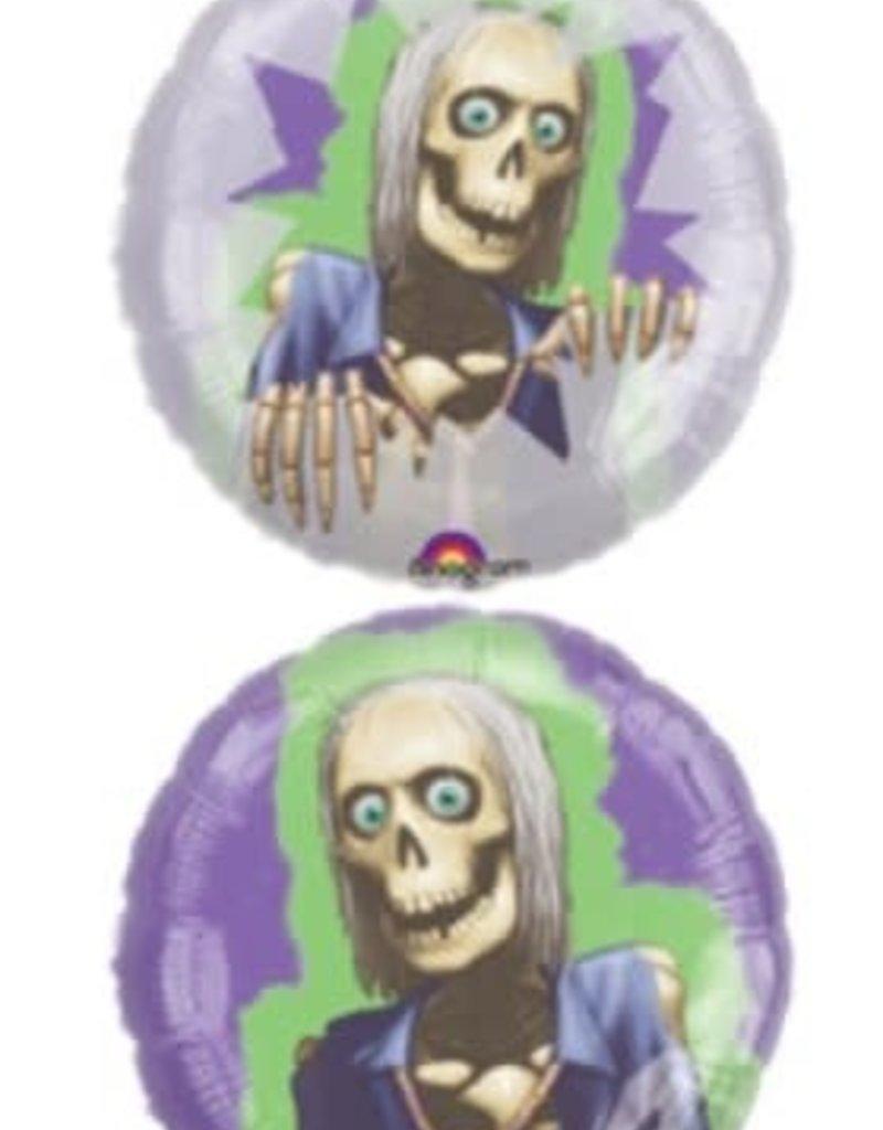 ***Halloween Panoramic Mr. Bones Mylar Balloon