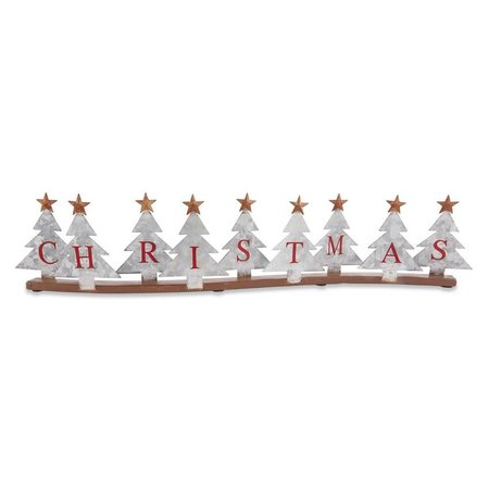 ***Tin Christmas Tree Plaque