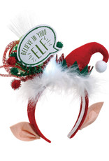 ***Lit Believe in Your Elf Headband