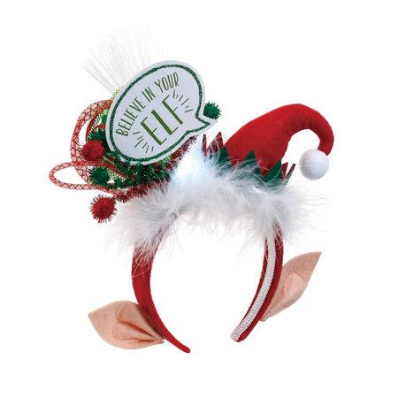 ***Lit Believe in Your Elf Headband
