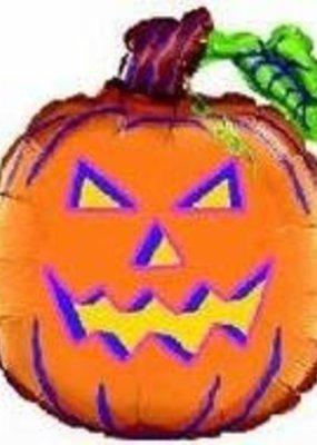 "***Jumbo 26"" Jack O Lantern Pumpkin Mylar Balloon"